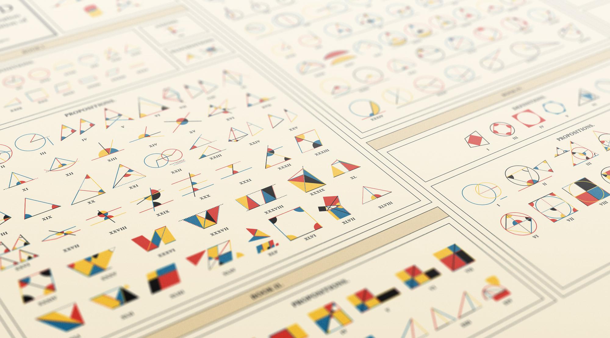Mettere insieme geometria euclidea e design modernista in un sito interattivo