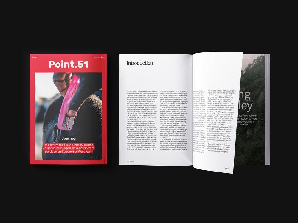 Point.51 è una nuova rivista indipendente dedicata a reportage fotografici e approfondimenti giornalistici