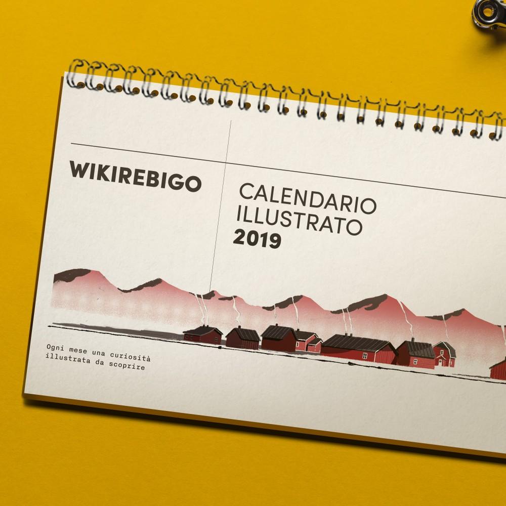 Wikirebigo 2019: il calendario illustrato che ti fa scoprire le cose