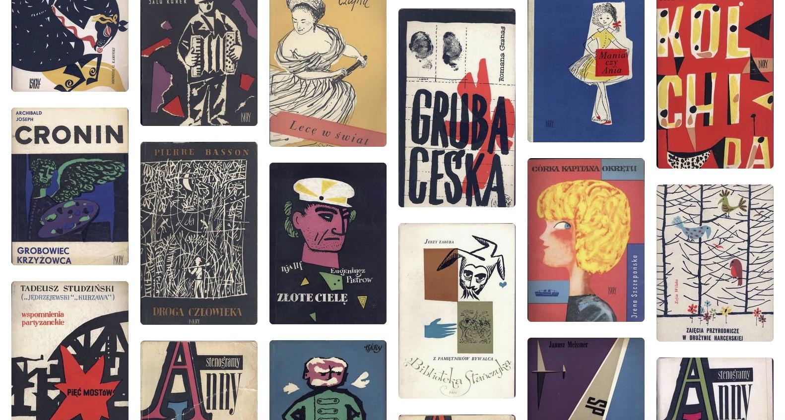 Tesori d'archivio: le copertine della casa editrice polacca Wydawnictwo Iskry