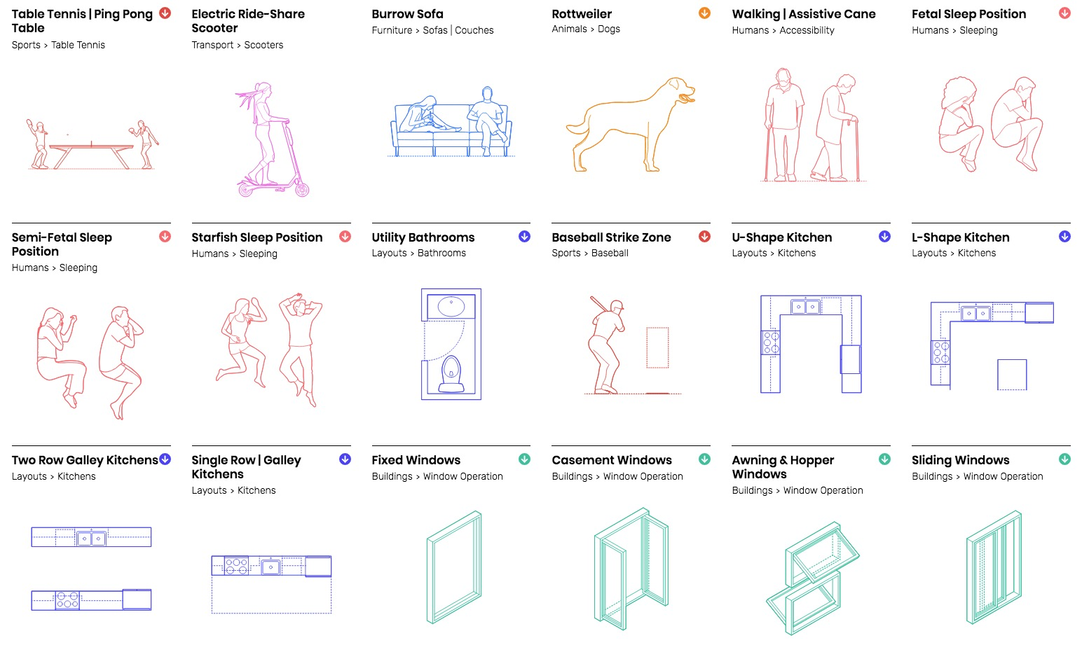 dimensions guide 4