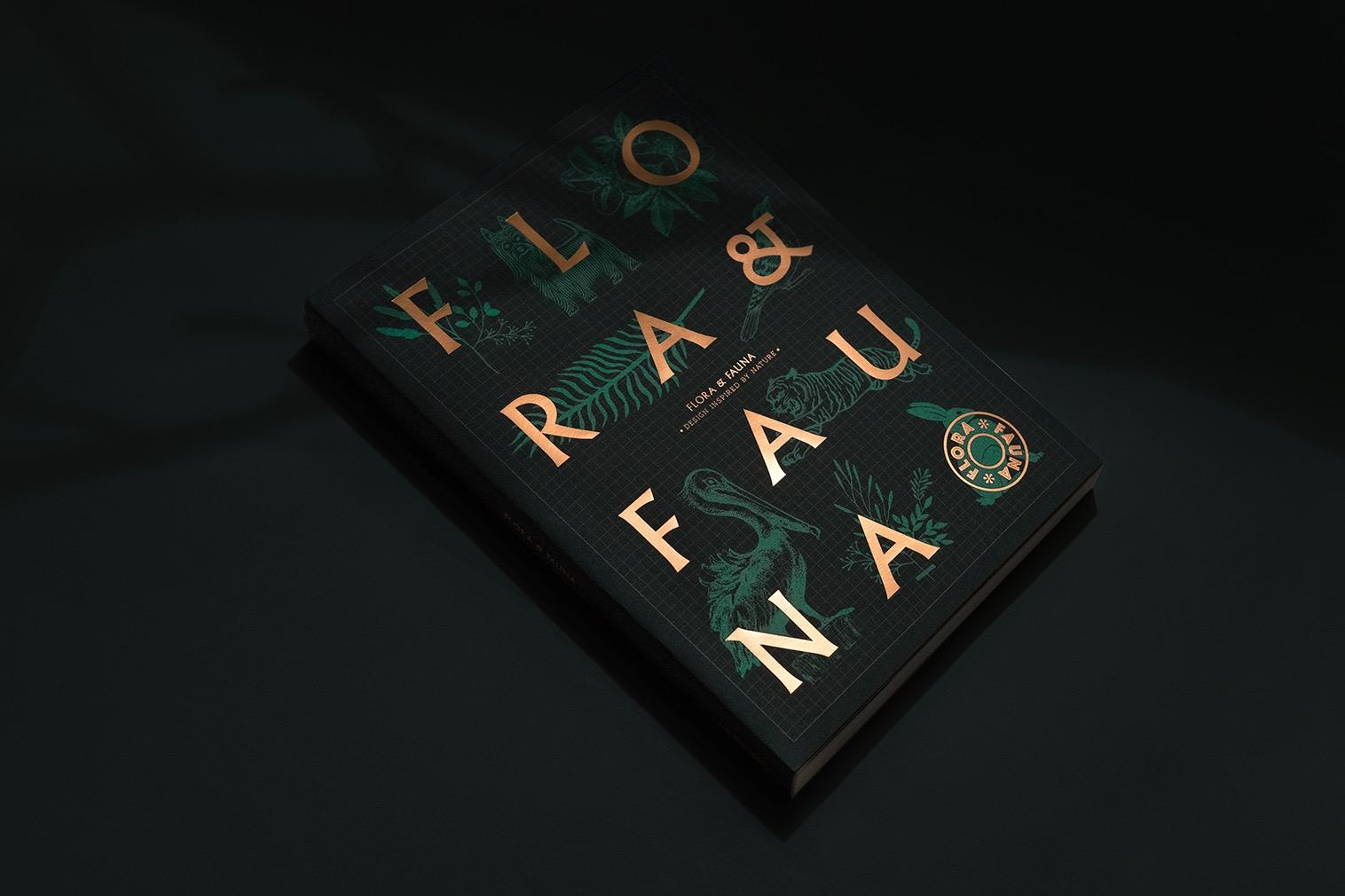 Un libro dedicato alla grafica ispirata alla natura