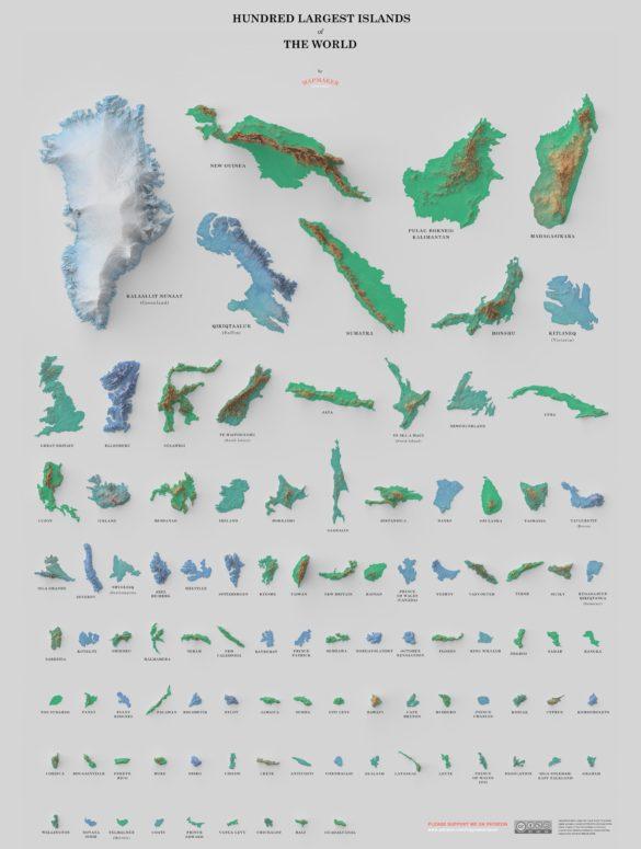 hundred largest islands david garcia 1
