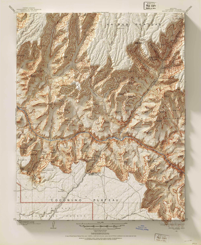 Mappe d'epoca rielaborate con la grafica 3D