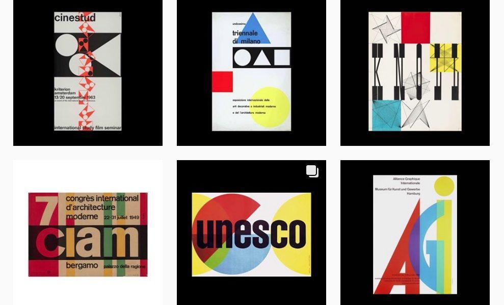 6b8b16106c Tesori d'archivio: This is a Poster Archive raccoglie centinaia di vecchi  poster su Instagram