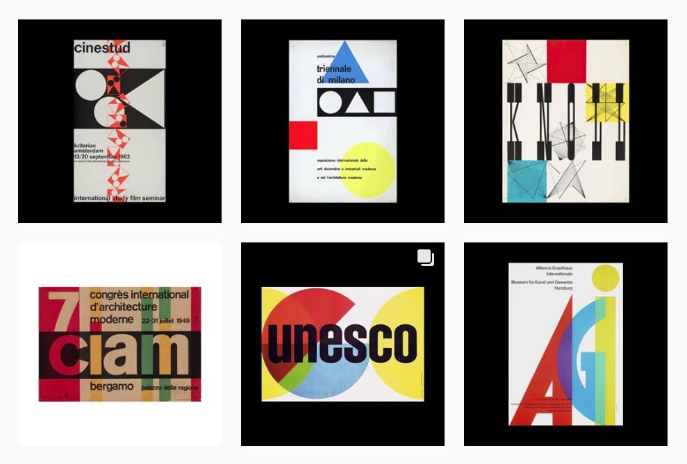 Tesori d'archivio: This is a Poster Archive raccoglie centinaia di vecchi poster su Instagram