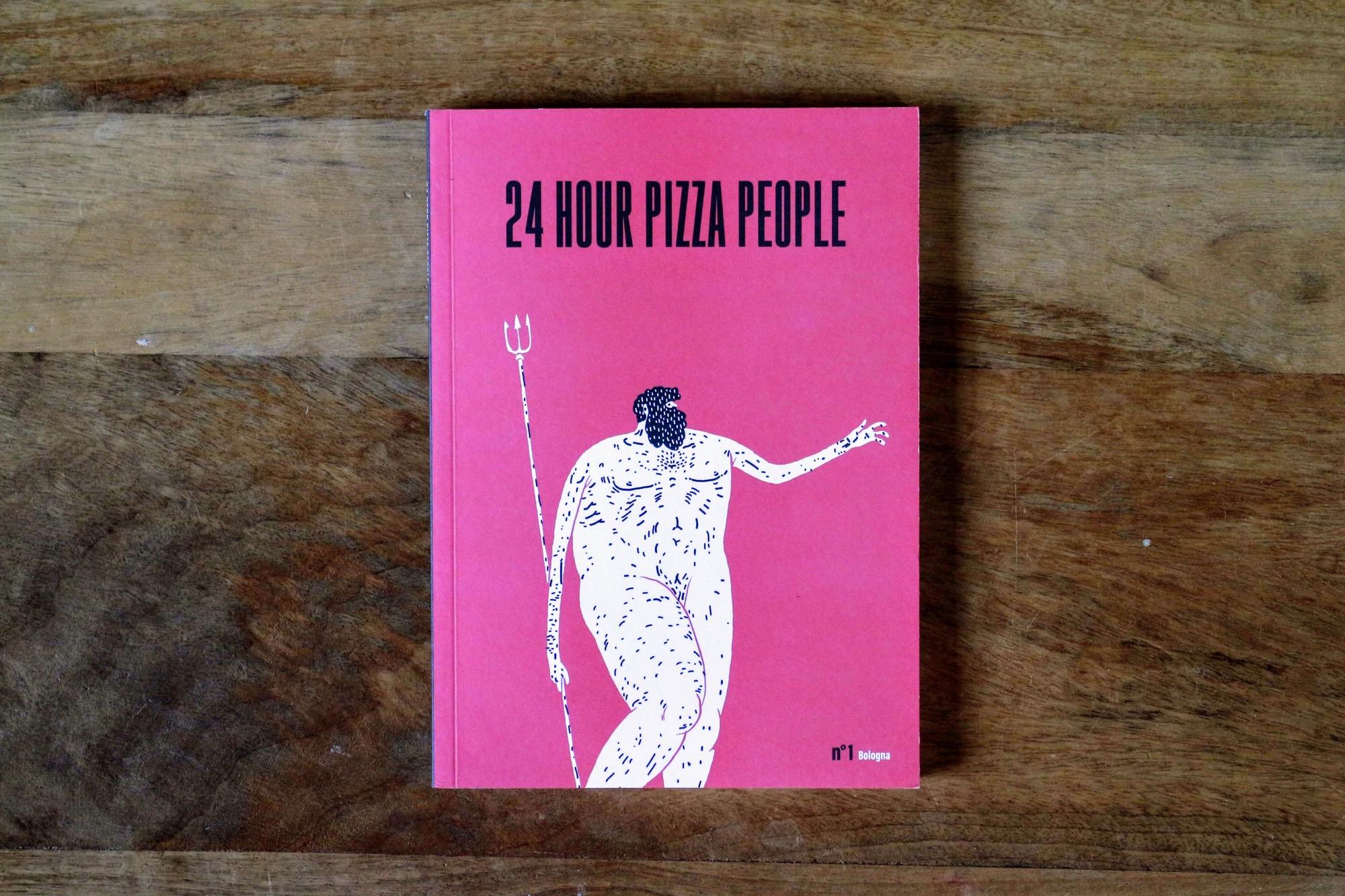 24 Hour Pizza People: una nuova rivista dedicata alla pizza e alle città