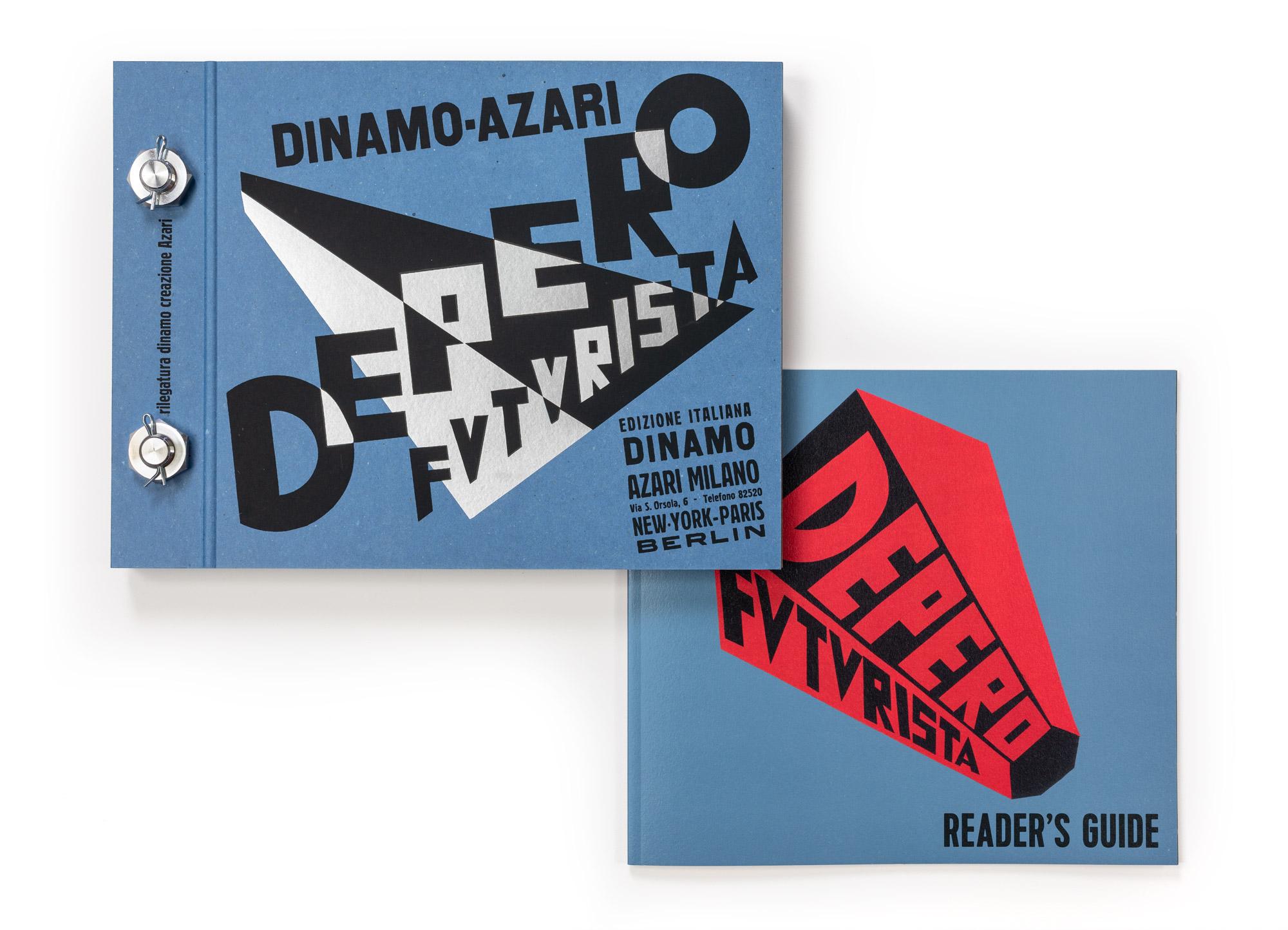 """La seconda ristampa del """"Libro Imbullonato"""" di Depero"""