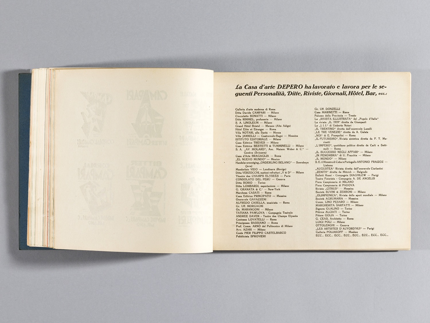 Depero Bolted Book 108