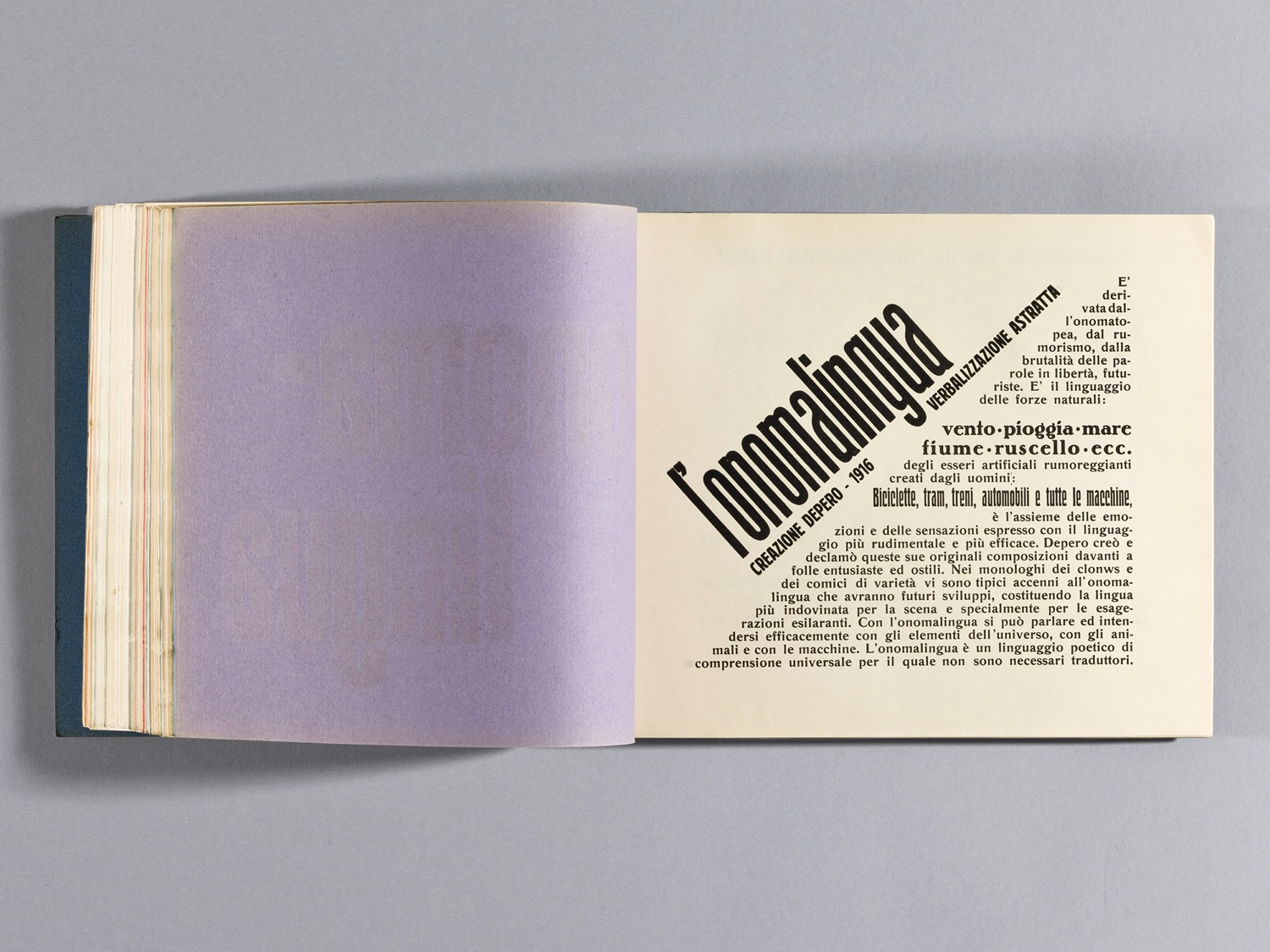 Depero Bolted Book 116