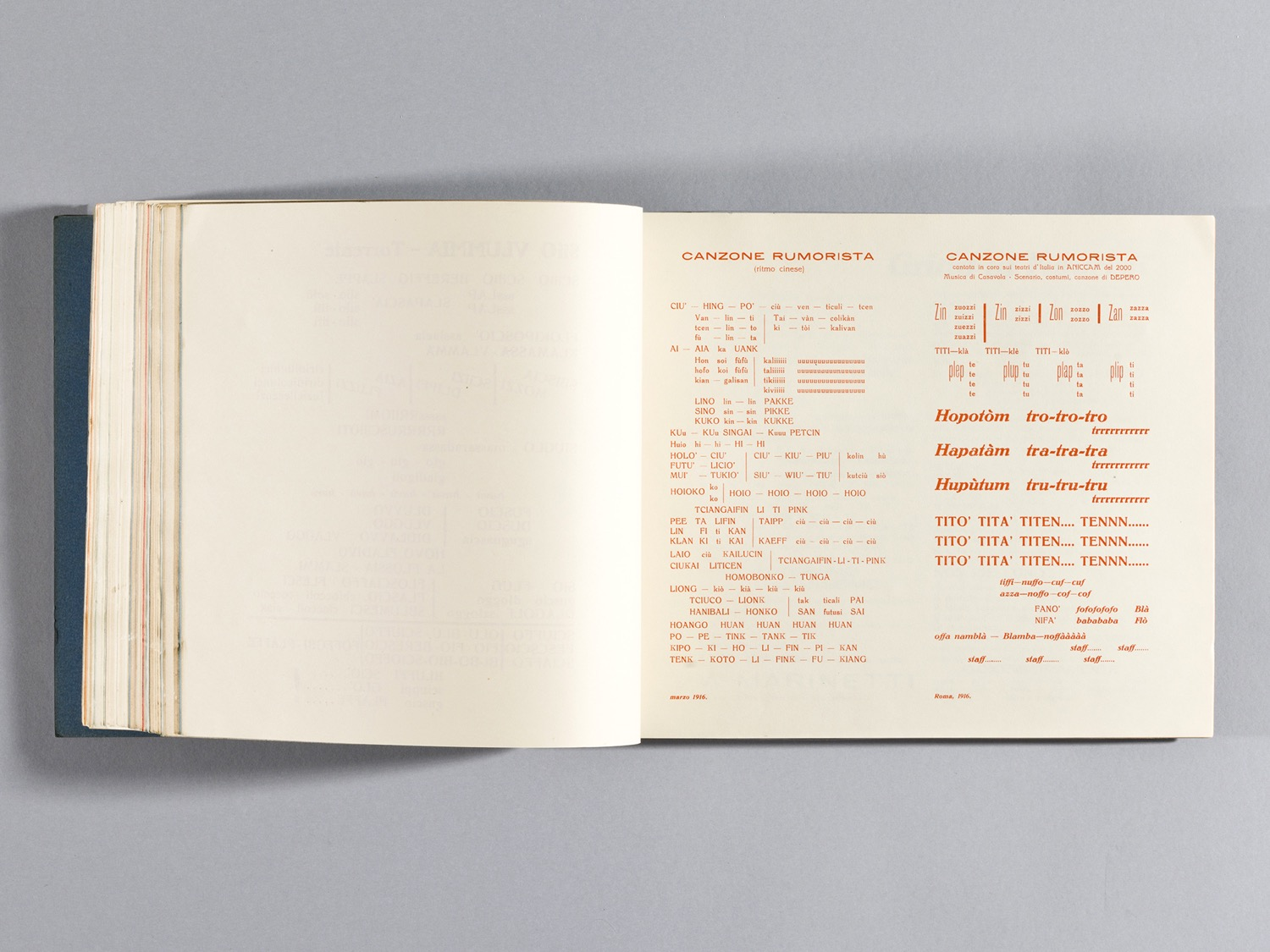 Depero Bolted Book 120