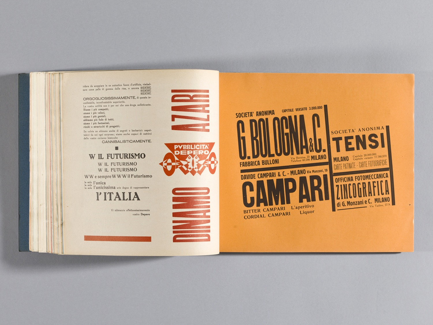 Depero Bolted Book 122