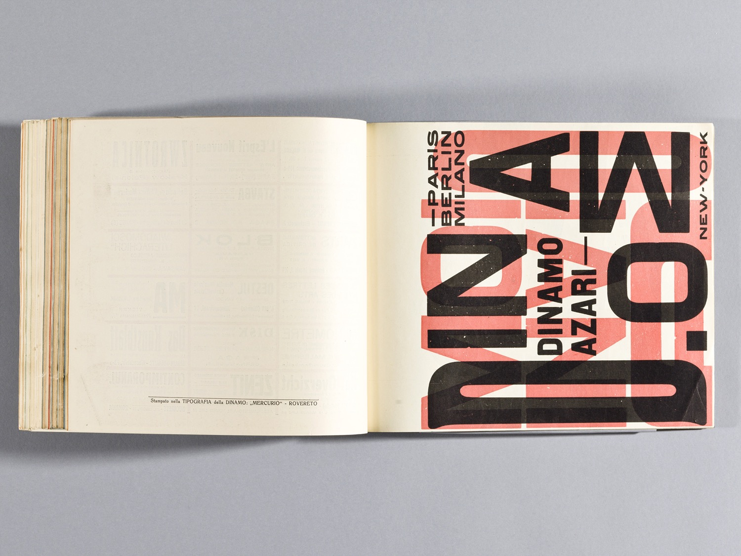Depero Bolted Book 124