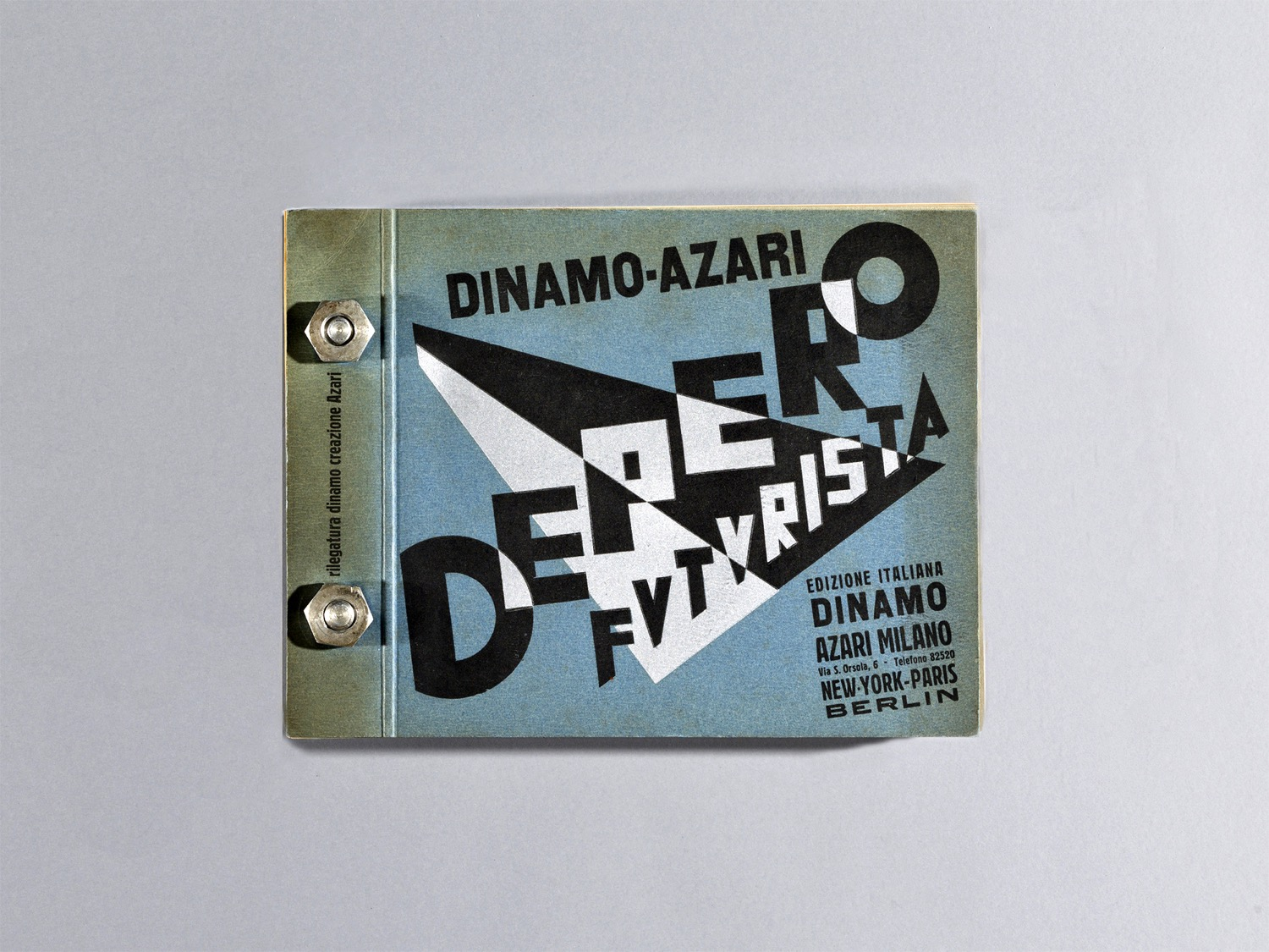 Depero Bolted Book 128 front rev