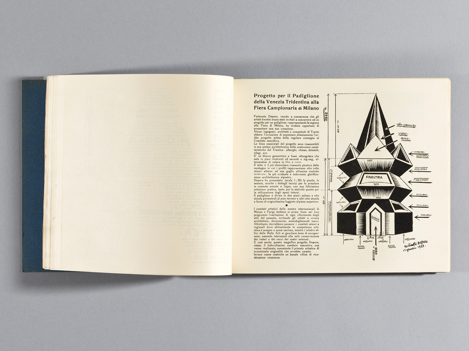 Depero Bolted Book 48