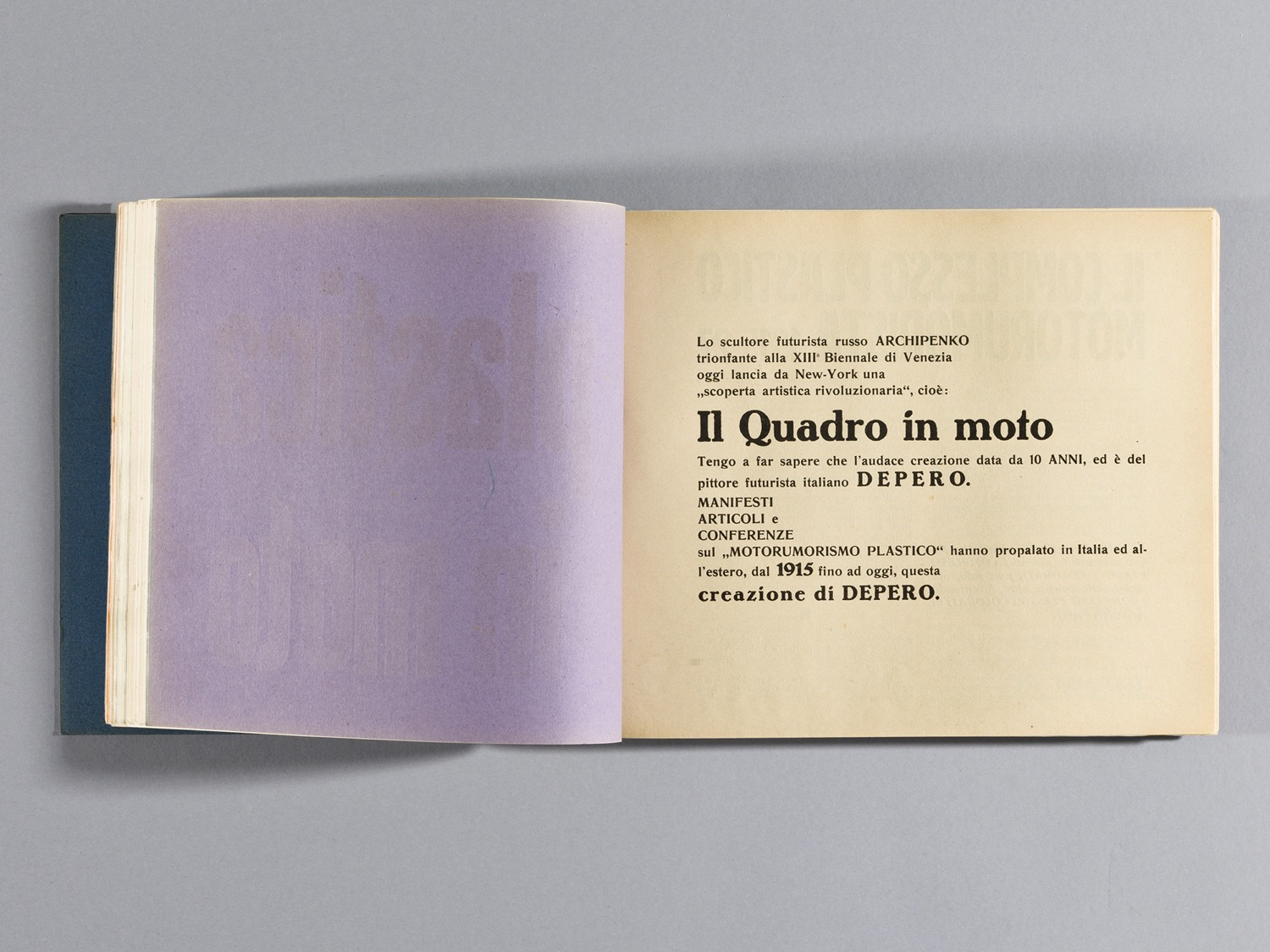 Depero Bolted Book 61