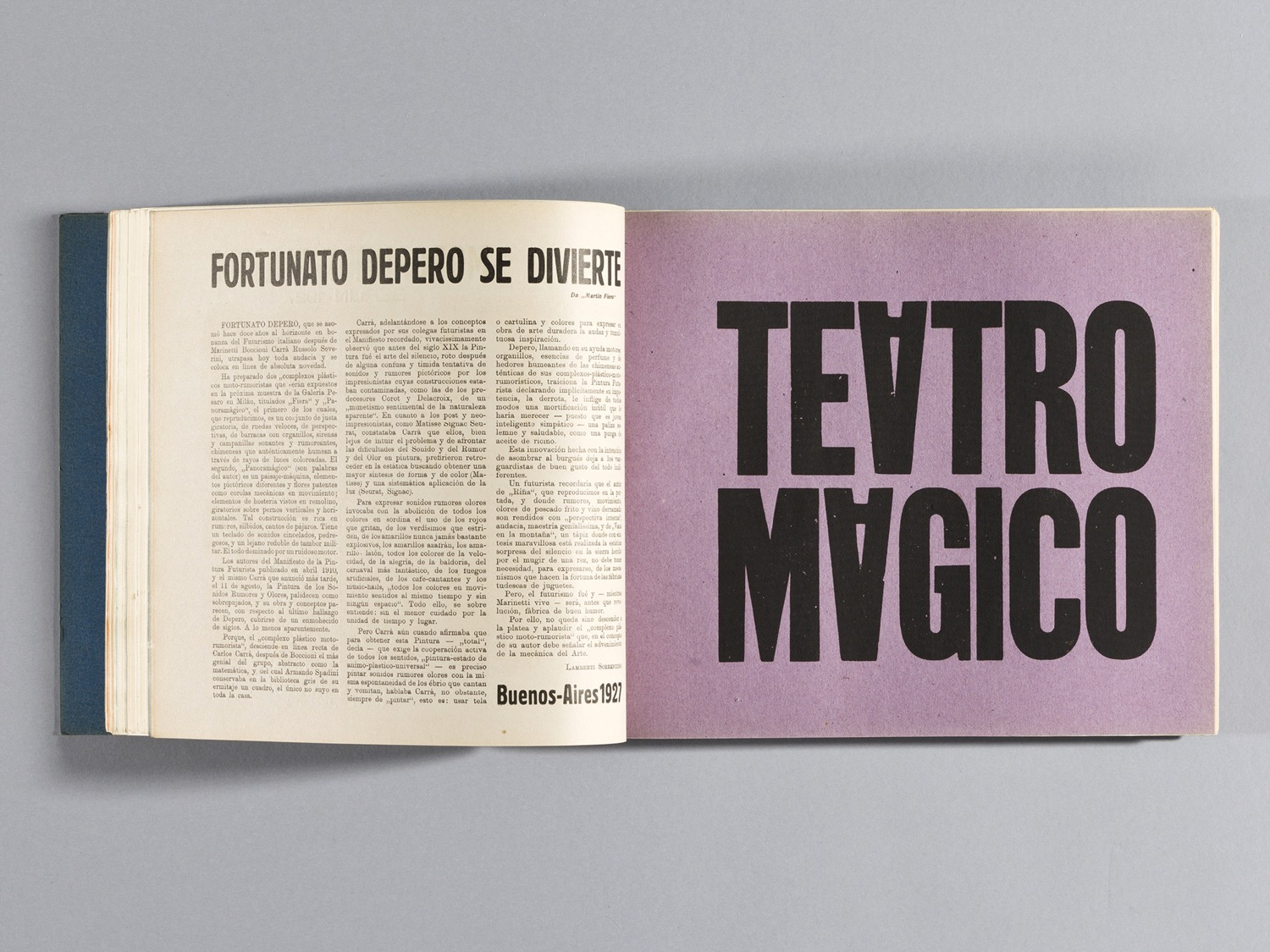 Depero Bolted Book 66