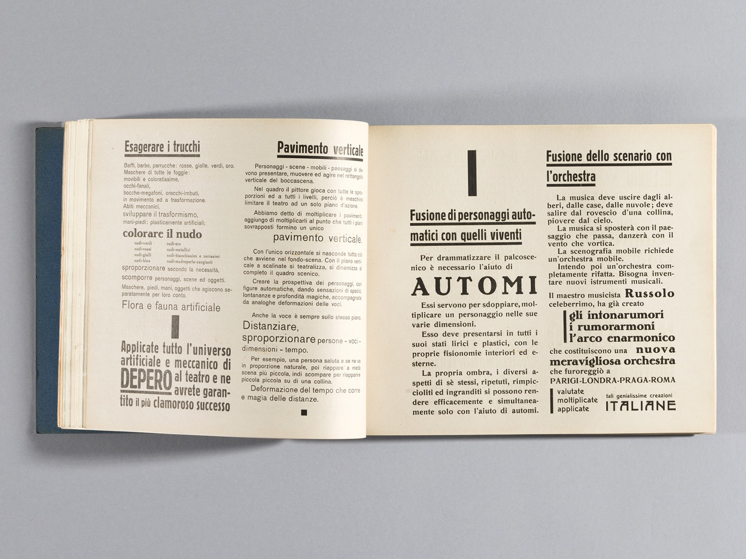 Depero Bolted Book 71