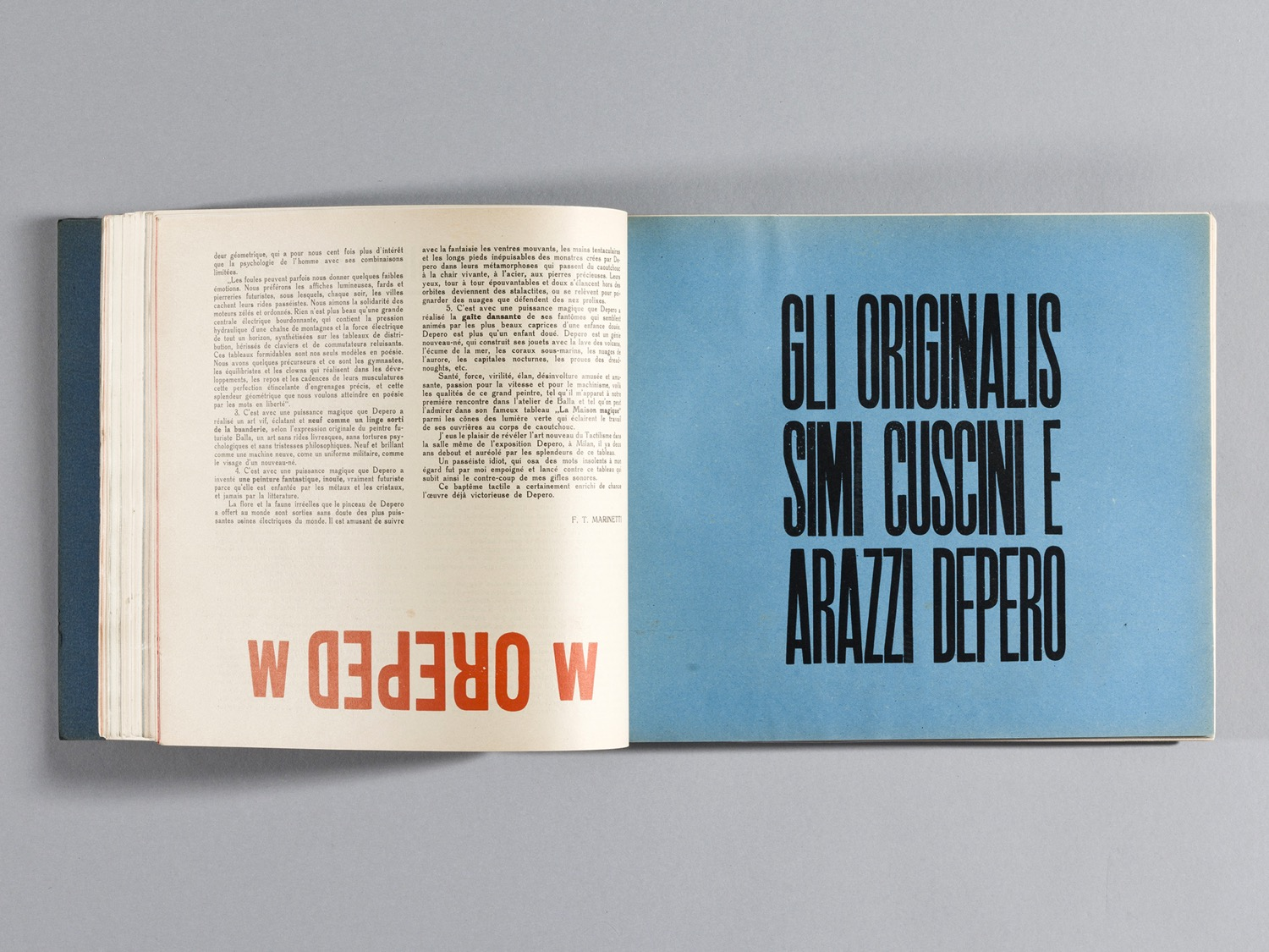 Depero Bolted Book 82