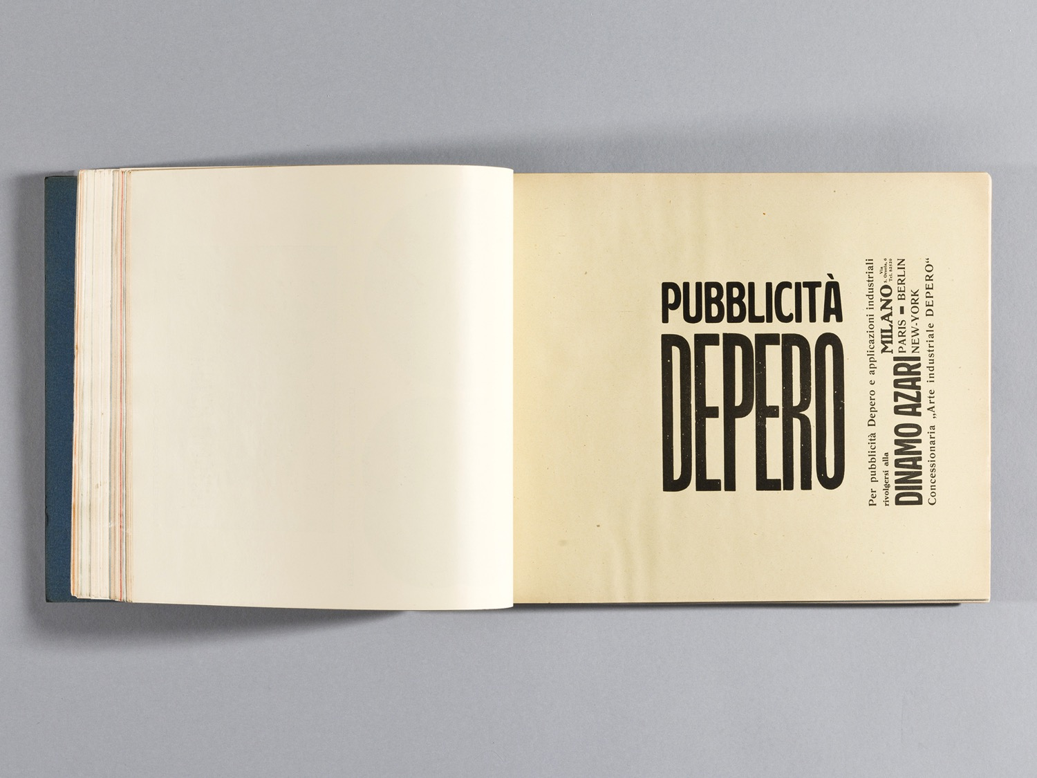 Depero Bolted Book 98