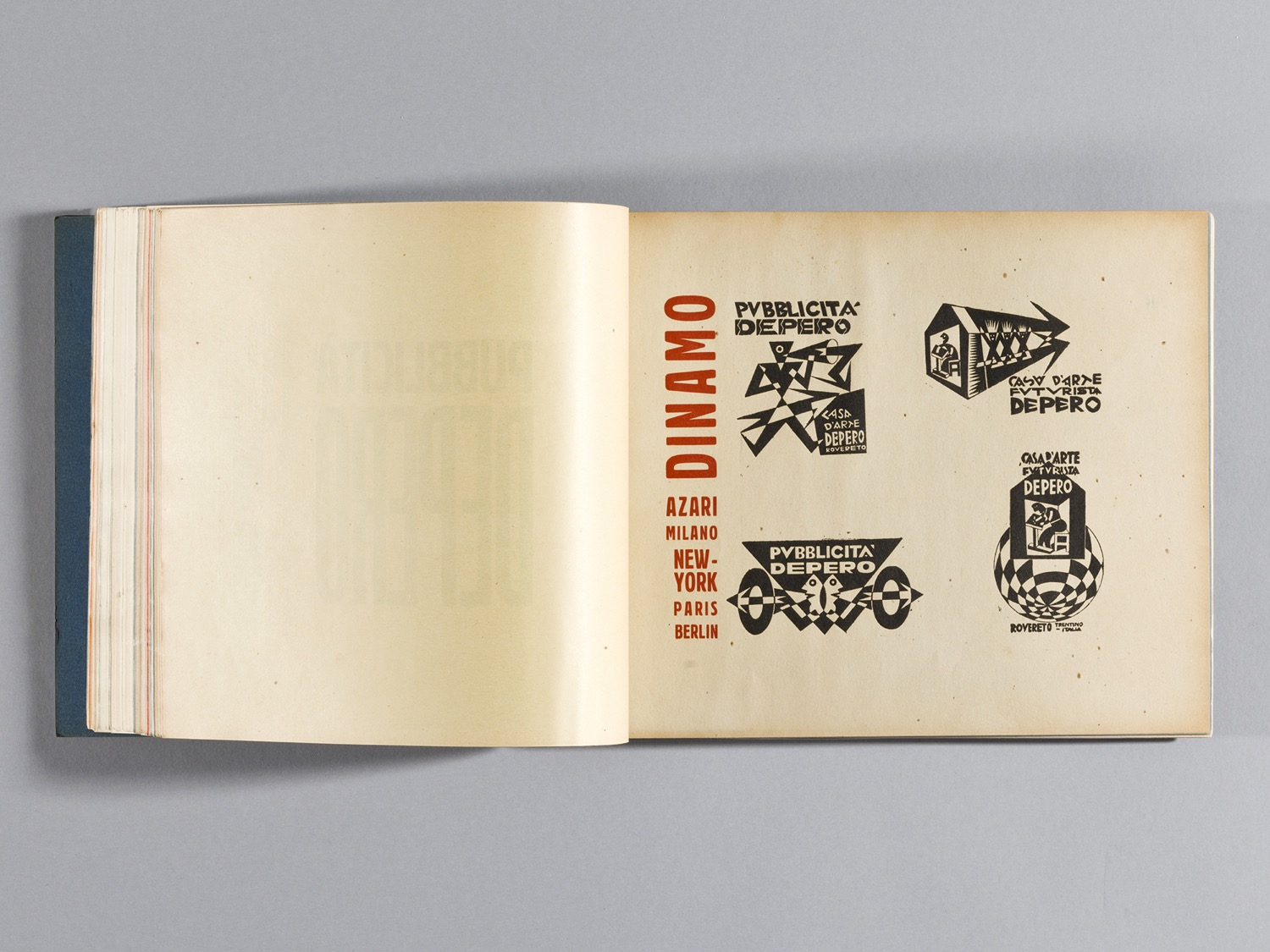 Depero Bolted Book 99
