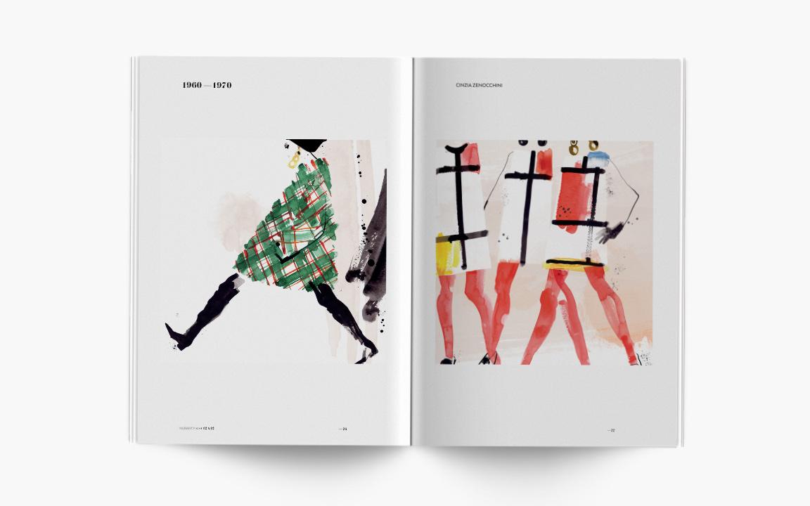 12 x 12: la moda da inizio '900 a oggi, illustrata da 48 artisti