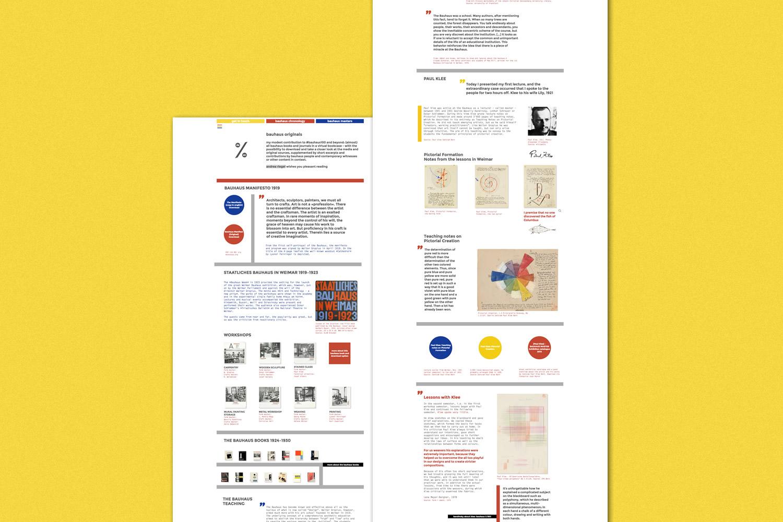 Tesori d'archivio: un sito raccoglie documenti e risorse relative al Bauhaus