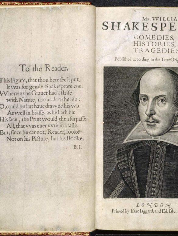 british library first folio 1