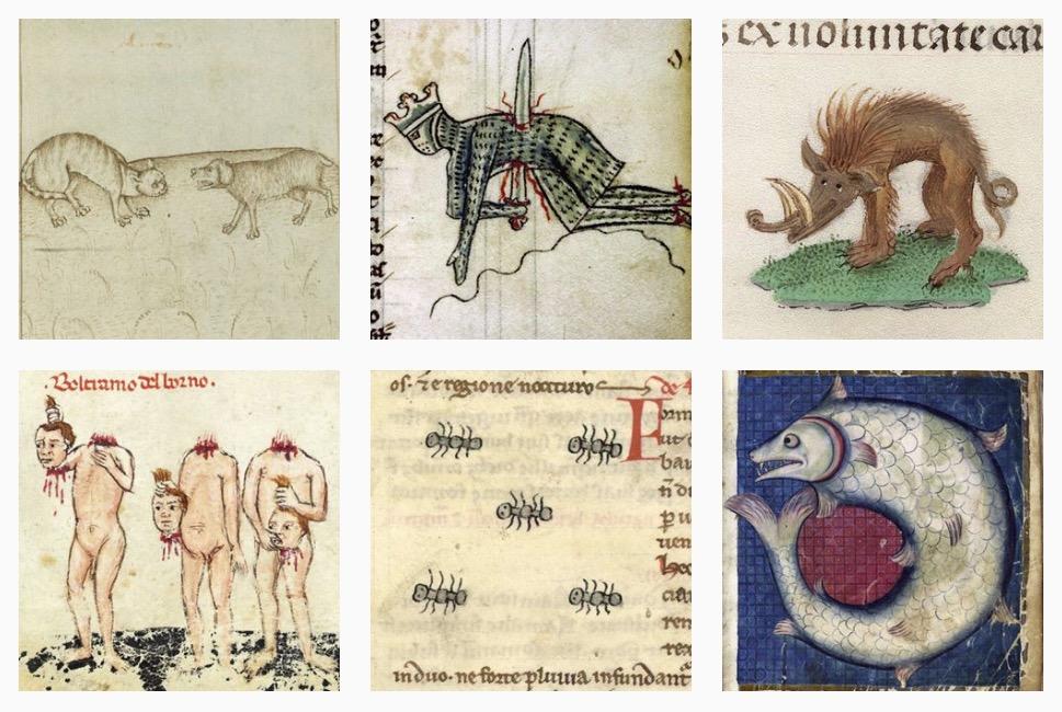 Tesori d'archivio: ancora immagini bizzarre dai manoscritti medievali