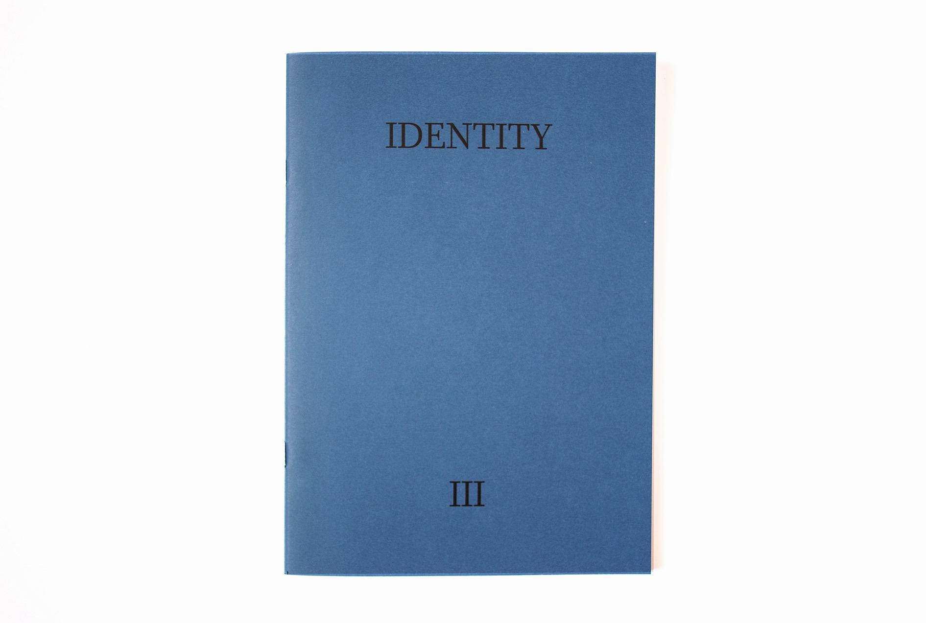 identity fanzine 9