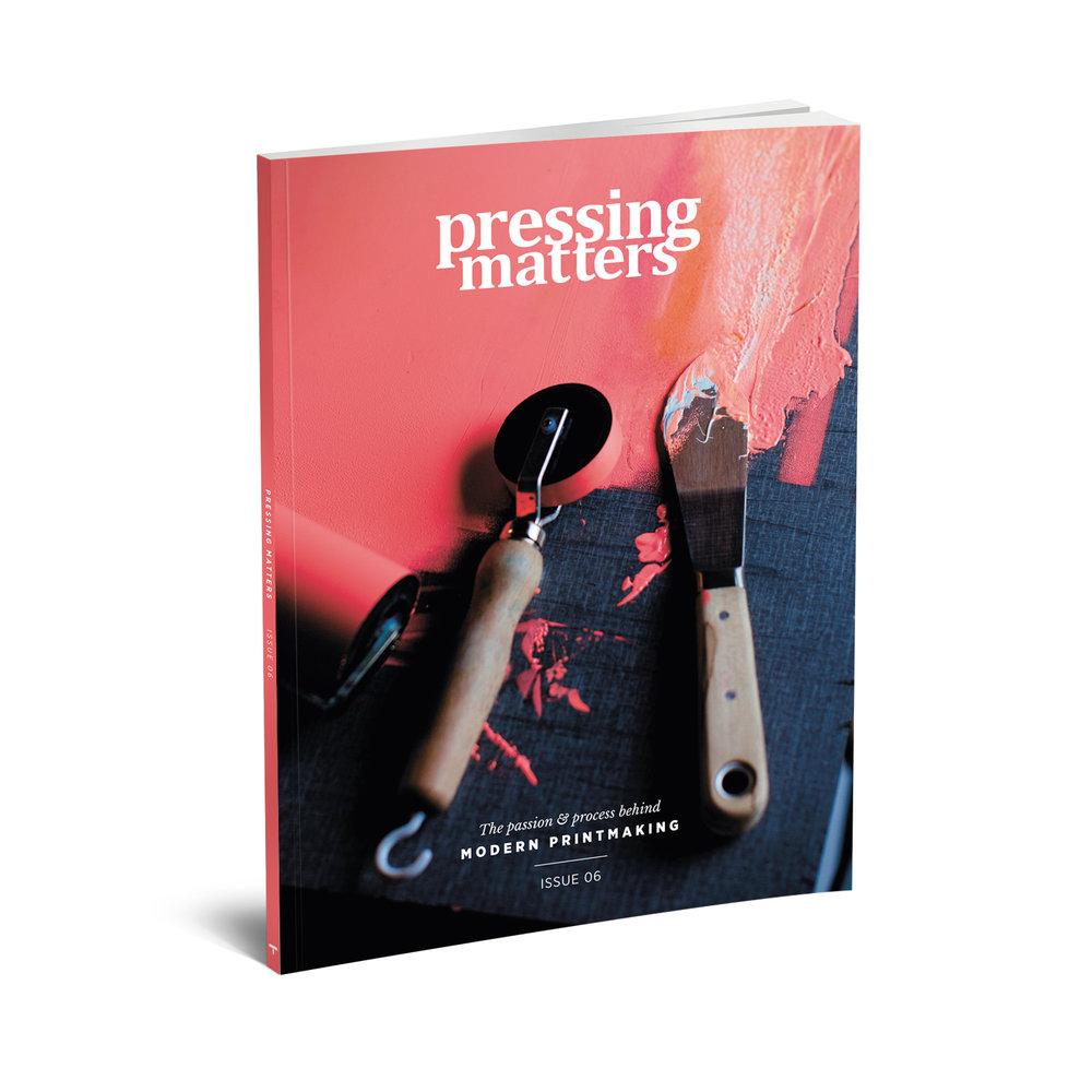 Il sesto numero di Pressing Matters, la rivista sulle arti della stampa