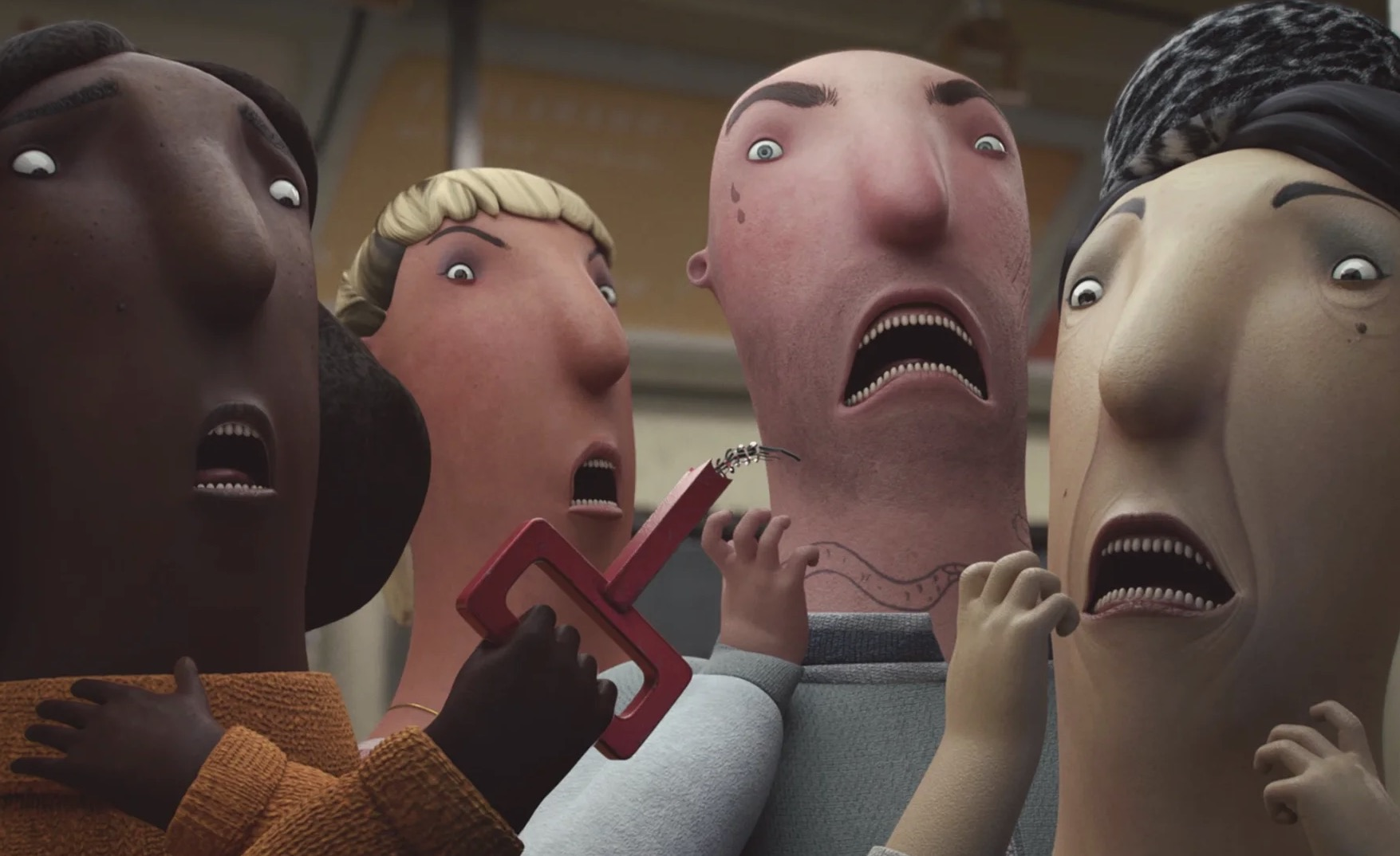 Cartoon animazione porno video