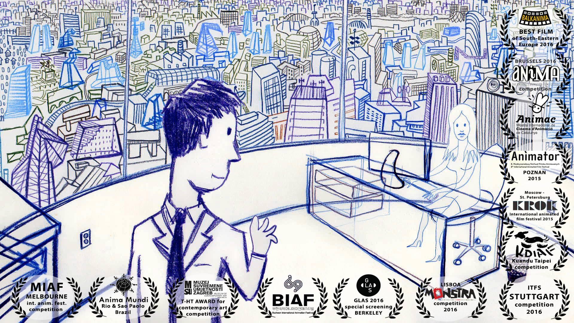Trasparency: un'animazione dedicata alla società della sorveglianza