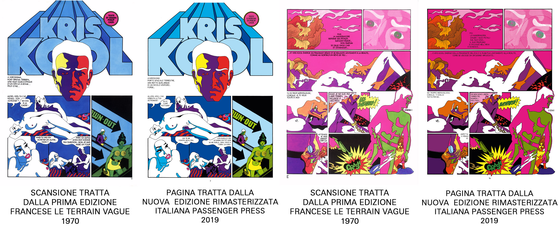 kris kool caza passenger press 10