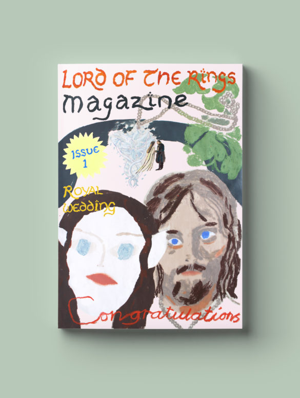 lord of the ring magazine 1