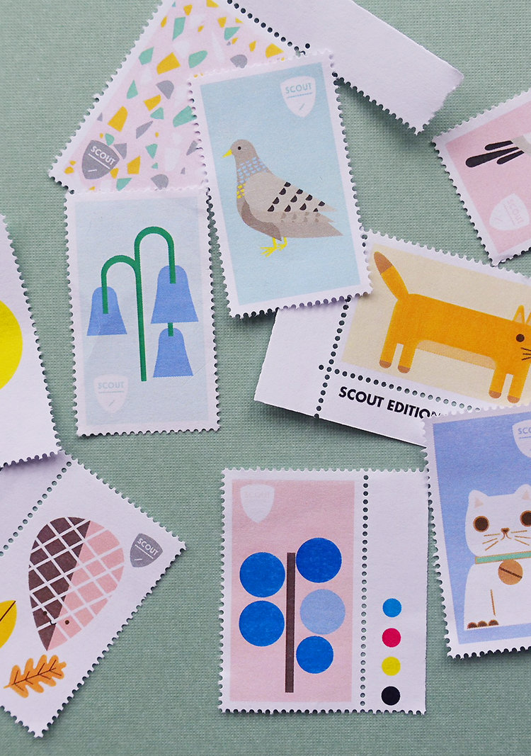 scout editions stamps 10