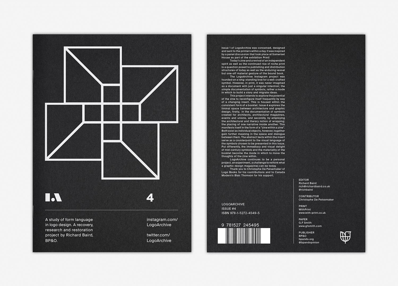 0 LogoArchive Issue 4 Architecture BPO Richard Baird Logo Zine