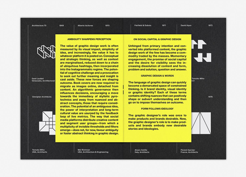 7 LogoArchive Issue 4 Architecture BPO Richard Baird Factory Yellow