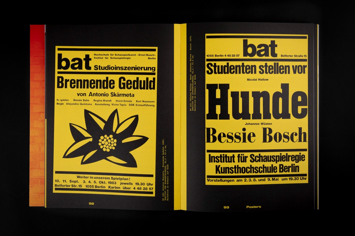 Drescher Berlin Typo Posters 8