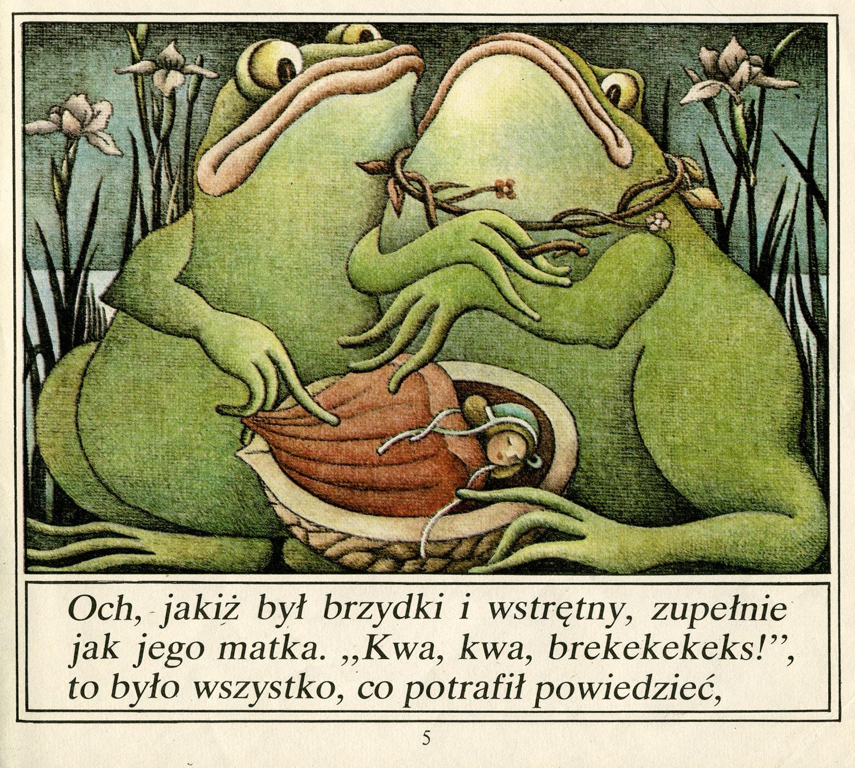 3 hans christian andersen calineczka elzbieta gaudasinska