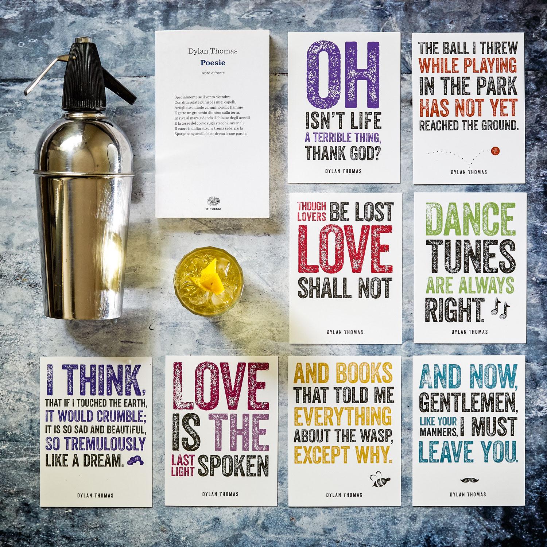 COCKTAIL Dylan Thomas Poesie Whisky e Soda