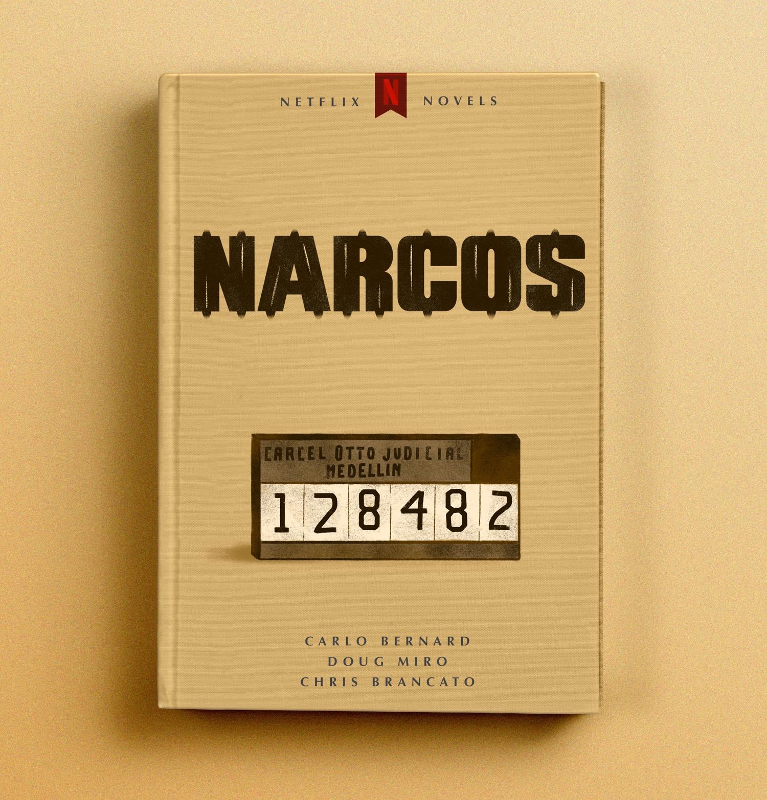 Narcos cover mockup