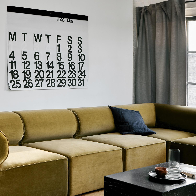 Stendig Sofa Corner White Square
