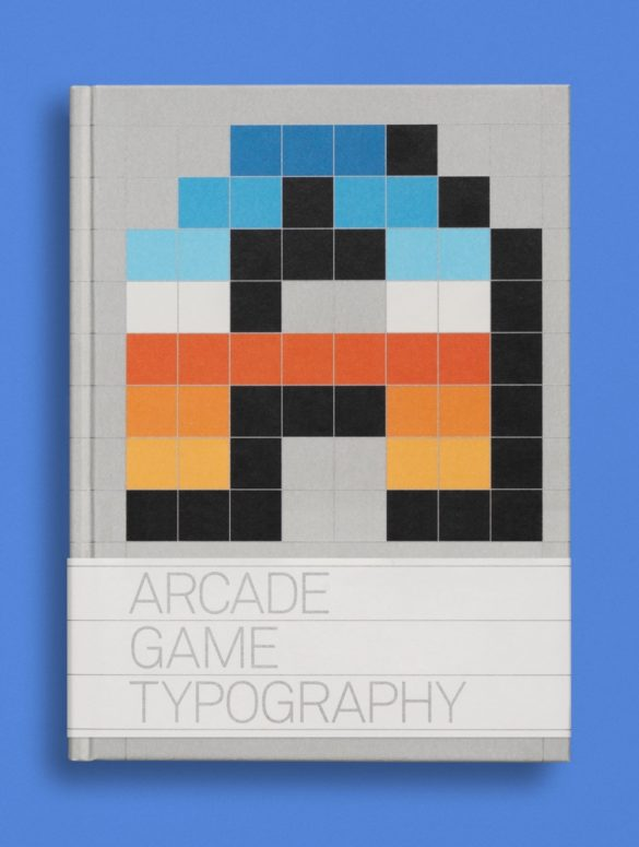 read only memory arcade game typography 1