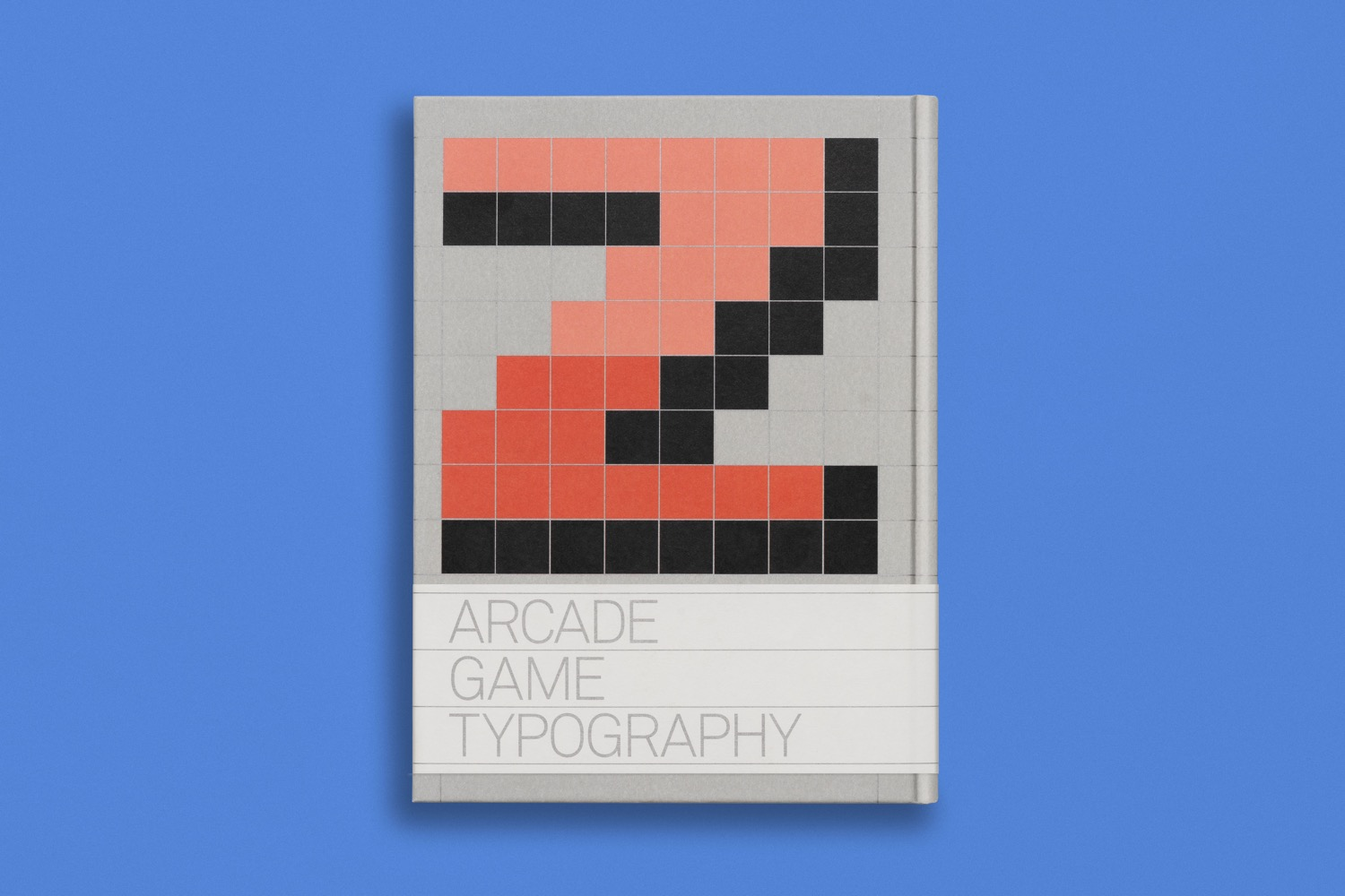 read only memory arcade game typography 11