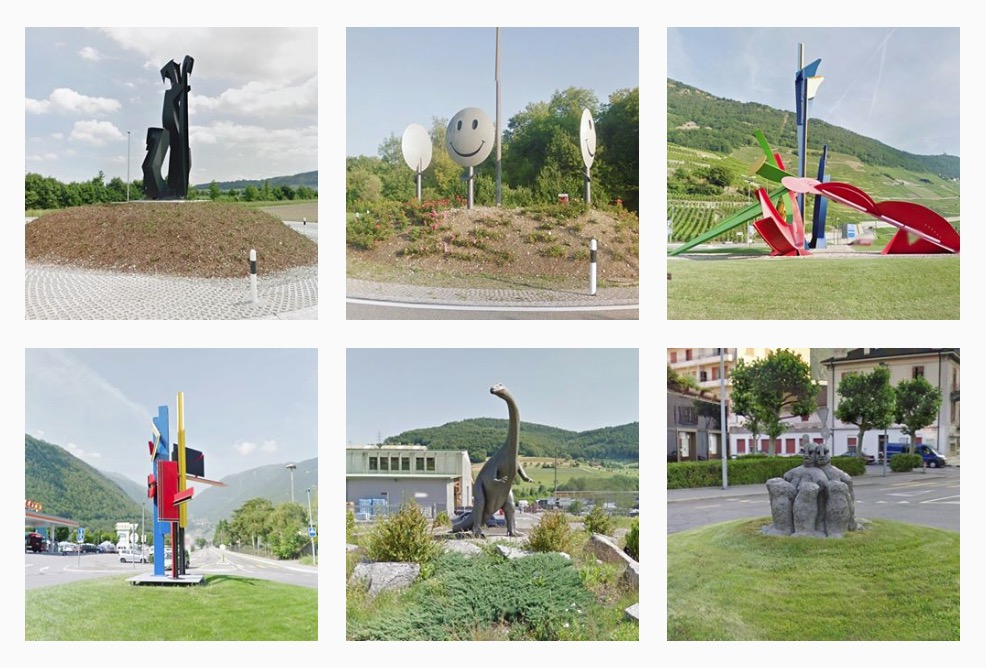 roundabout sculpture 1