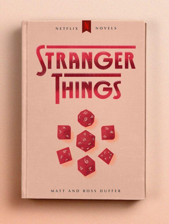 stranger things cover mockup