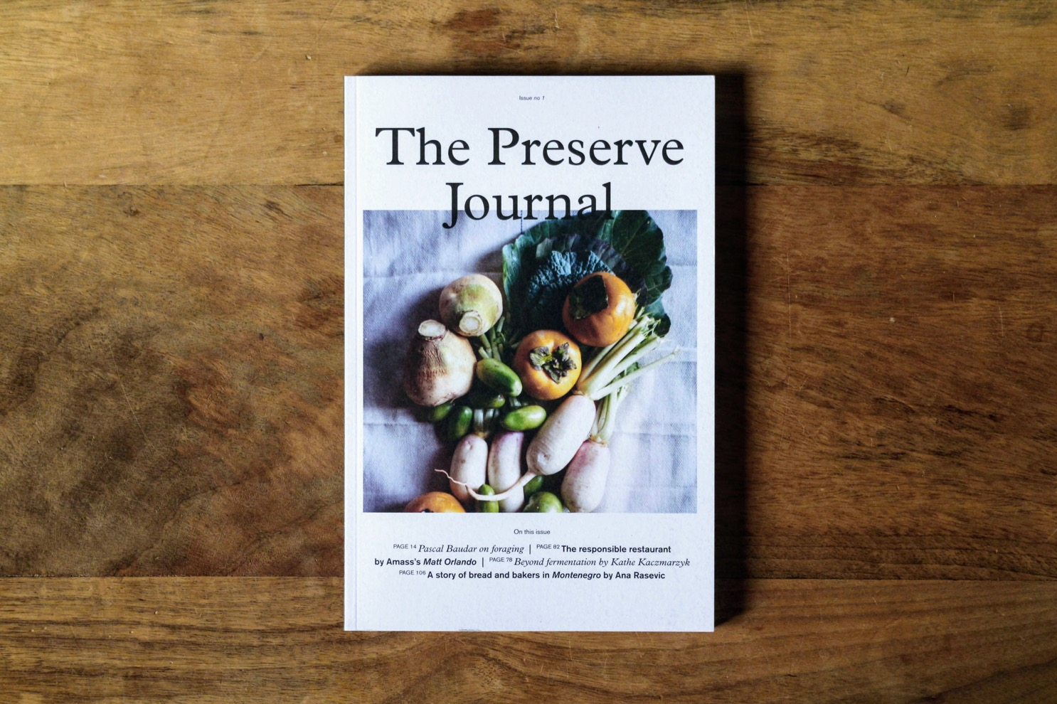 the preserve journal 1