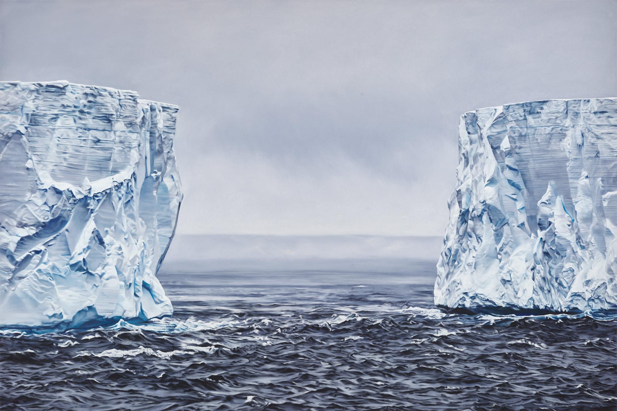 B 15Y Iceberg Antarctica no.2 60x90 2017