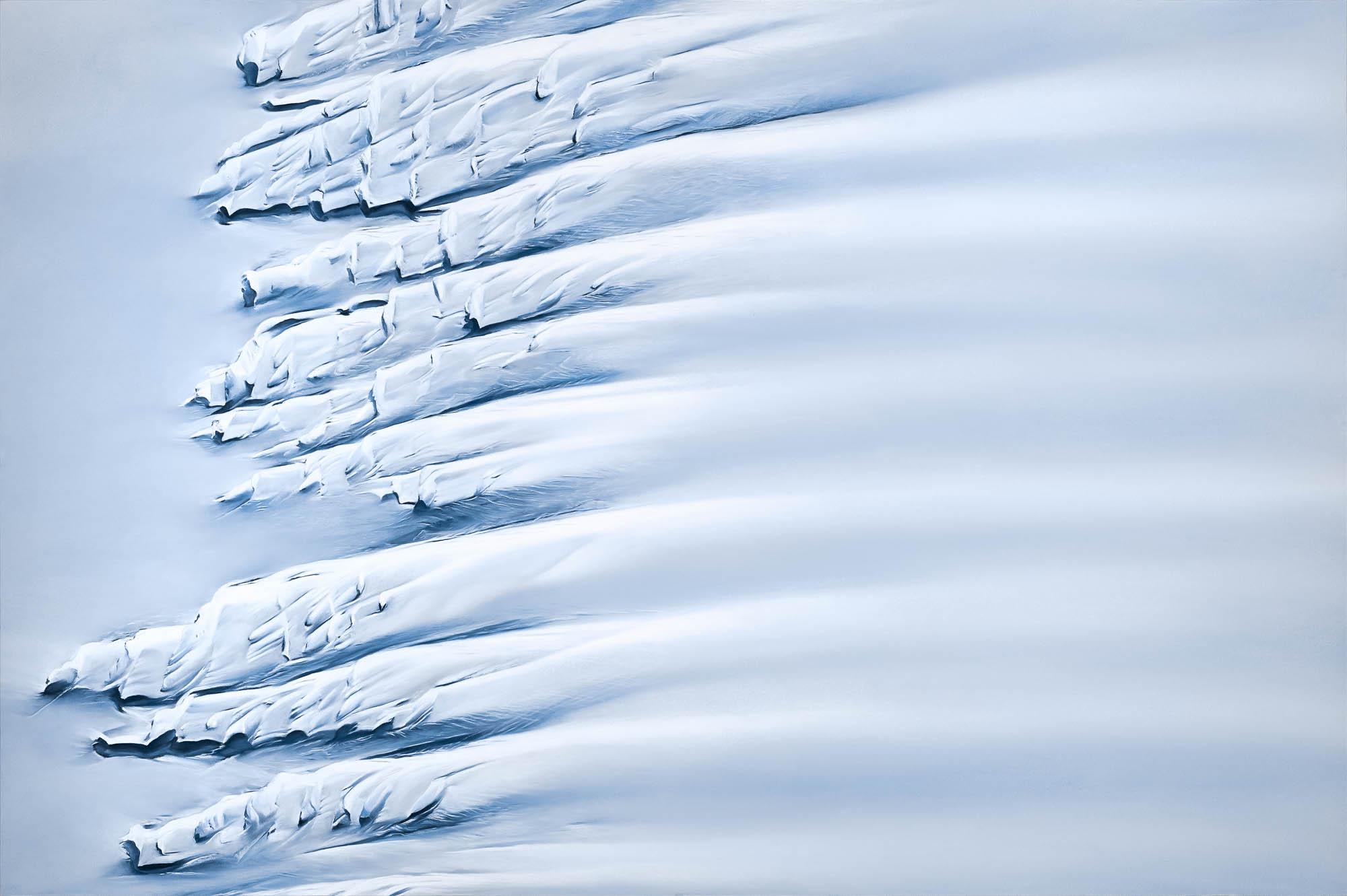 Getz Ice Shelf Antarctica 744557708S.13350548448W 40x60inches 2018